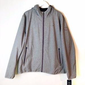 Men's Tommy Hilfiger Gray Waterproof Jacket
